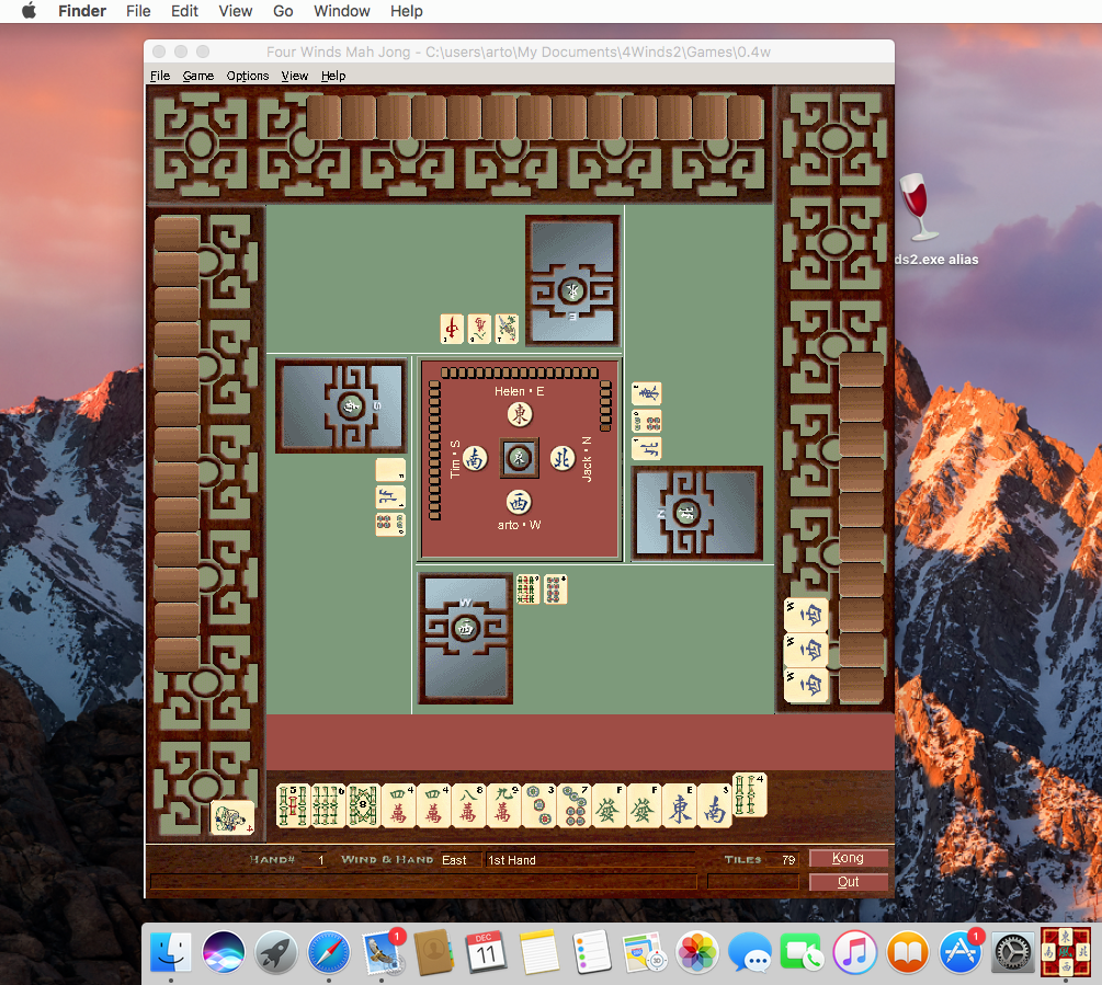 Running Four Winds on non-Windows platforms – Four Winds Mah